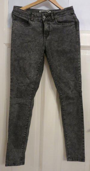H&M Pantalone a sigaretta grigio-grigio scuro