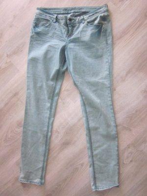 Strech Jeans hellblau/türkies Gr 44 #Promod