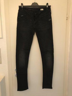 G-Star Pantalón elástico gris antracita