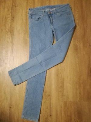 H&M Stretch jeans lichtblauw