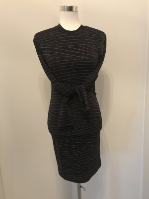 Minimum Pencil Dress black-silver-colored synthetic fibre