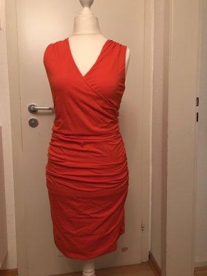 Boden Vestido elástico rojo