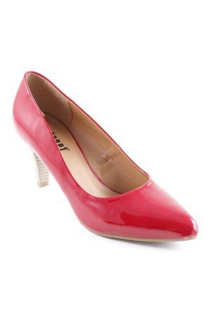 Street High Heels rot Elegant