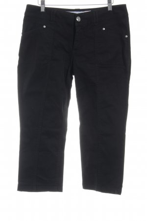 Street One Pantalón pirata negro estilo sencillo