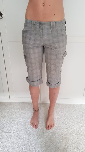Street One Bermudas grey-white cotton