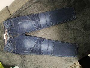 Street One 3/4 Jeans Modell Raja im coolen Bikerstil in der Größe 30/26