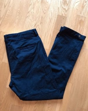 Street One Pantalone chino blu scuro