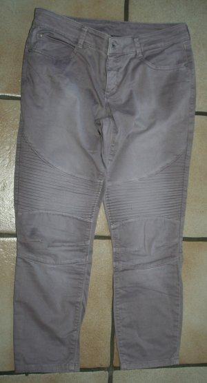 Street One 7/8 Biker Jeans Hose altrose Gr. 38/28