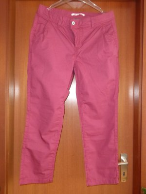Street One 7/8 Crash Hose Chino 38/26 Lachs Apricot Neu