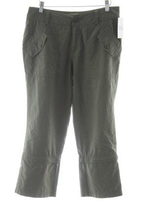 "Street One Pantalon 7/8 ""Vicky"" gris vert"
