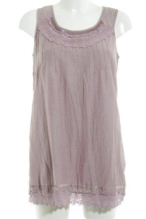Street One A-Linien Kleid pink-hellgrau Casual-Look