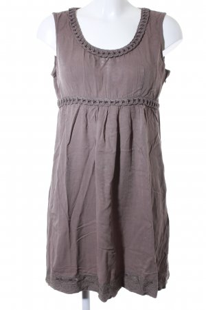 Street One A Line Dress grey brown casual look