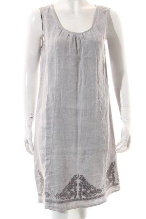 Street One A-Linien Kleid hellgrau klassischer Stil