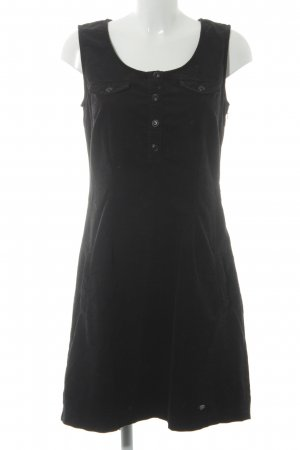 Street One A-Linien Kleid schwarz Casual-Look
