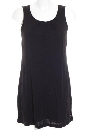 Street One A-Linien Kleid schwarz schlichter Stil