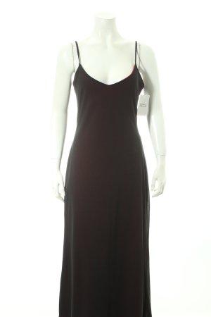 Street One Abendkleid schwarz-dunkelrot Eleganz-Look
