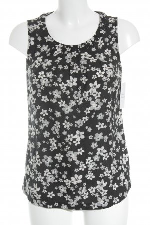 Street One ärmellose Bluse florales Muster Casual-Look