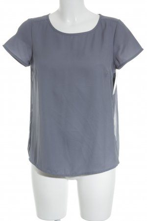 Street One ärmellose Bluse graublau Casual-Look