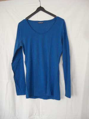Street One Basic Shirt Langarm blau