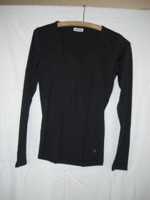 Street One Basic Shirt Langarm schwarz Gr. 36