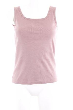 Street One Basic Top roségoldfarben Nude-Look