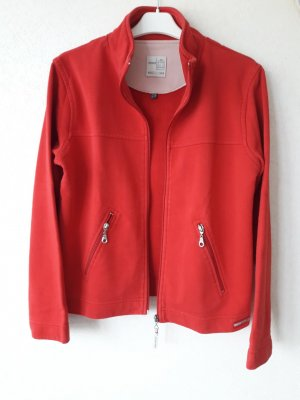 Street One Giacca in pile rosso Cotone