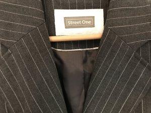 Street One Blazer grau Streifen
