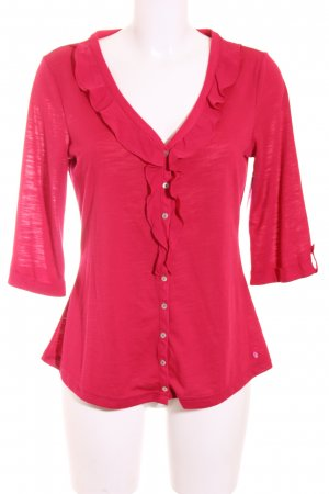 Street One Bluse magenta Casual-Look