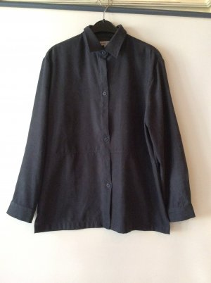 Street One Blusenhemd Gr 40 - dunkelgrau / Alcantara