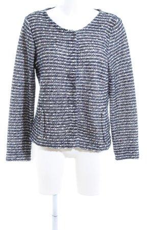 Street One Chaqueta tipo blusa azul-blanco estampado a rayas estilo «business»