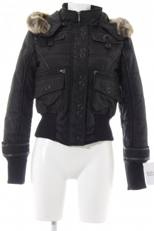 Street One Bomber Jacket black college style