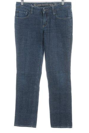Street One Boot Cut Jeans dunkelblau Casual-Look