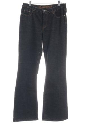 Street One Boot Cut Jeans schwarz Casual-Look