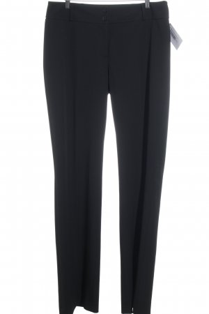 Street One Bundfaltenhose schwarz Business-Look