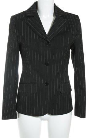 Street One Business-Anzug schwarz-weiß Nadelstreifen Business-Look