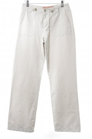 Street One Cargo Pants cream athletic style
