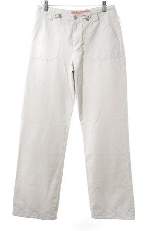Street One Pantalon cargo crème style athlétique