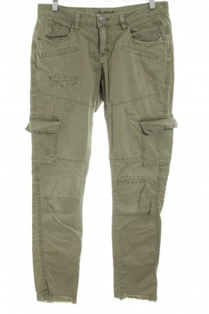Street One Cargo Pants khaki casual look