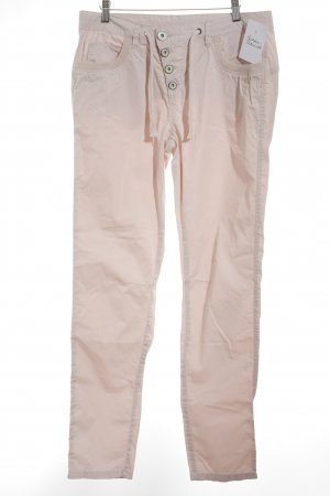 Street One Pantalon cargo or rose-crème style simple