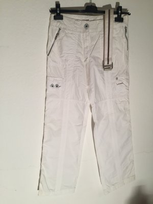 Street One Pantalón de camuflaje blanco Algodón