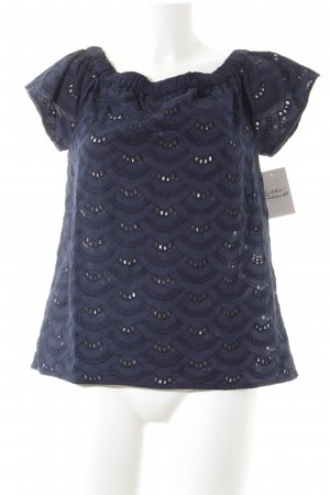 Street One Carmen Shirt dark blue Boho look