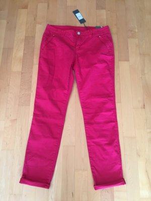 Street One Chino Hose 40/32 Pink Magenta Neu m. Etikett