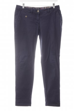 Street One Chinohose dunkelblau Casual-Look