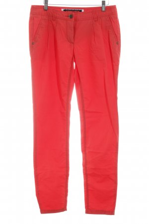 Street One Chinohose hellrot Casual-Look