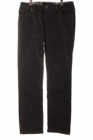 Street One Cordhose braun Casual-Look