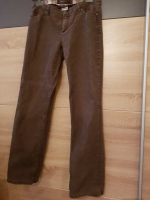 Street One Pantalón de camuflaje marrón-negro