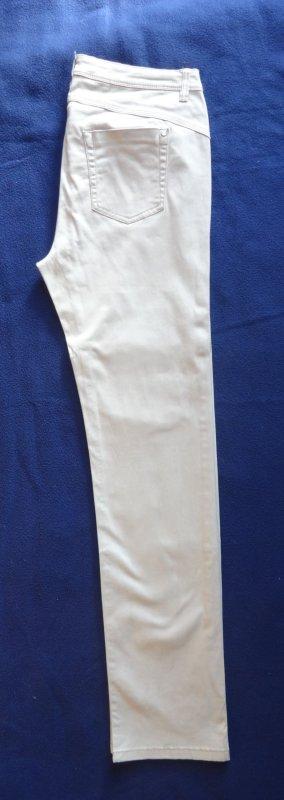 Street One Damen Stretch Jeans Gr. 40 grau beige