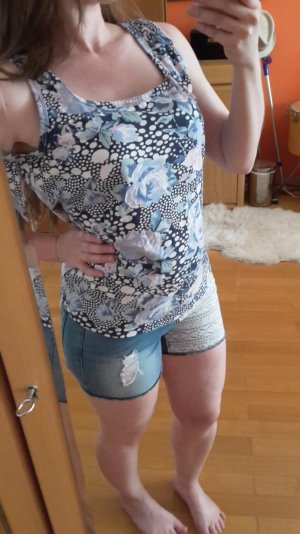 Street One Damen Top mit Rosenprint Gr. M
