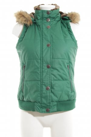 Street One Down Vest green casual look