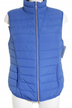 Street One Donsvest blauw casual uitstraling